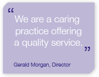 Quote from Gerald Morgan, Director